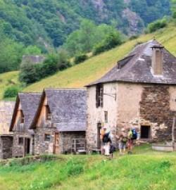 village étape GR10