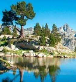 lac aiguestortes