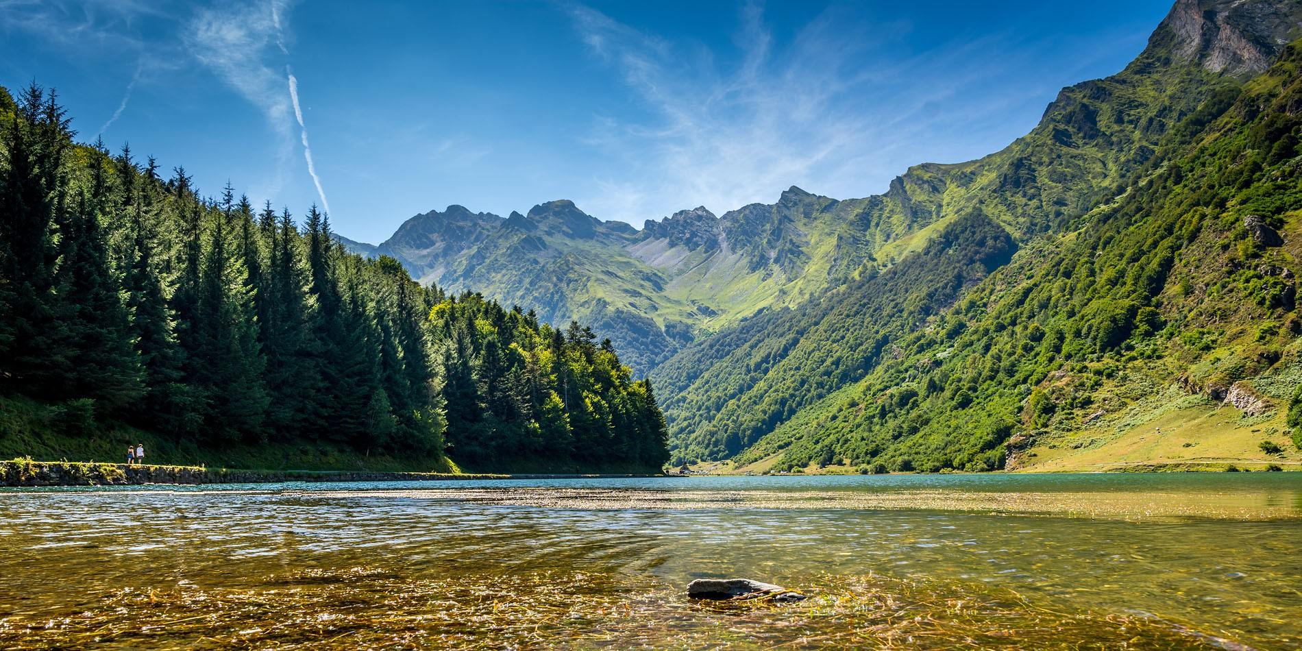 Lac d'Estaing Pyrénées Val d'Azun