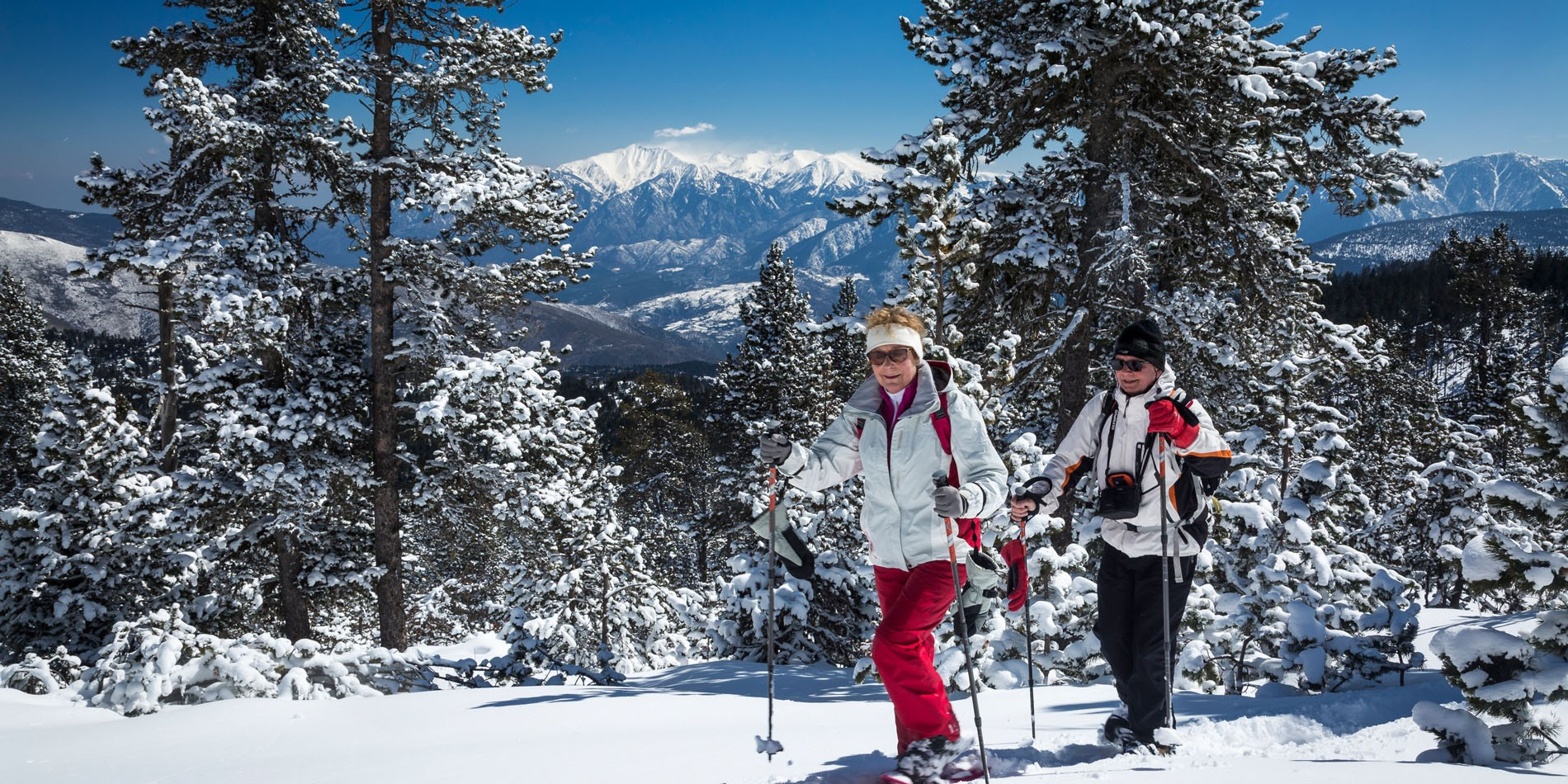 Raquettes à neige Pyrénées
