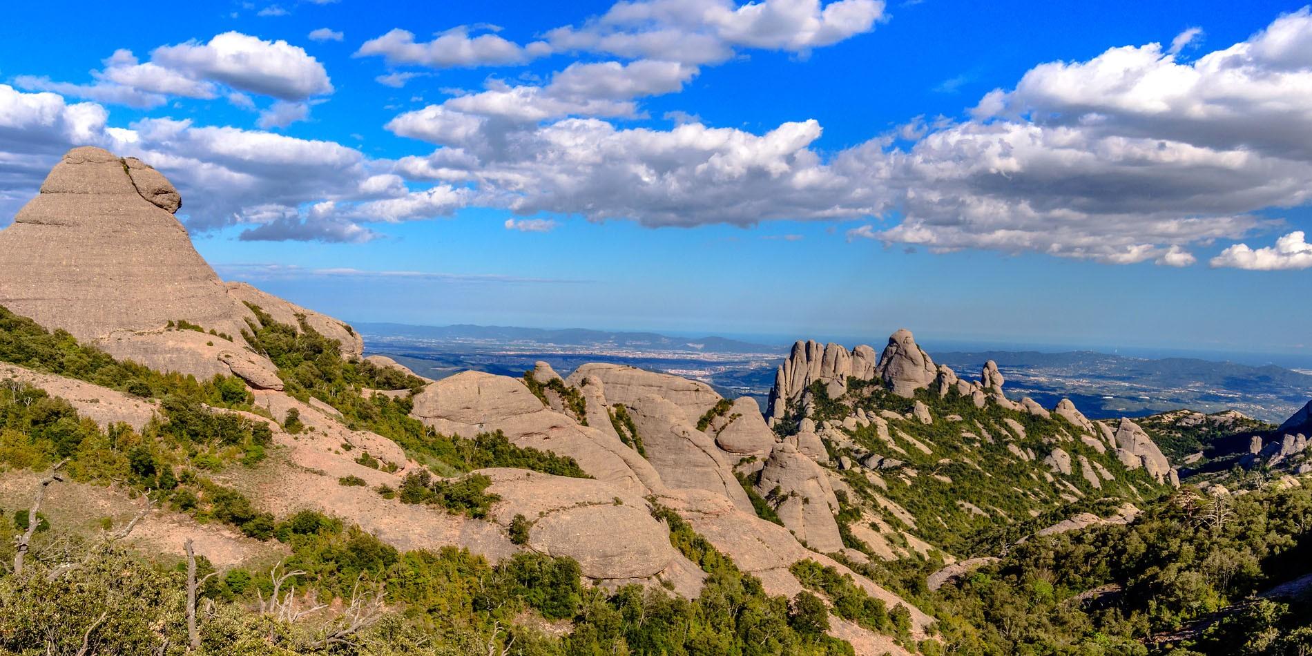 parc naturel montserrat barcelone espagne