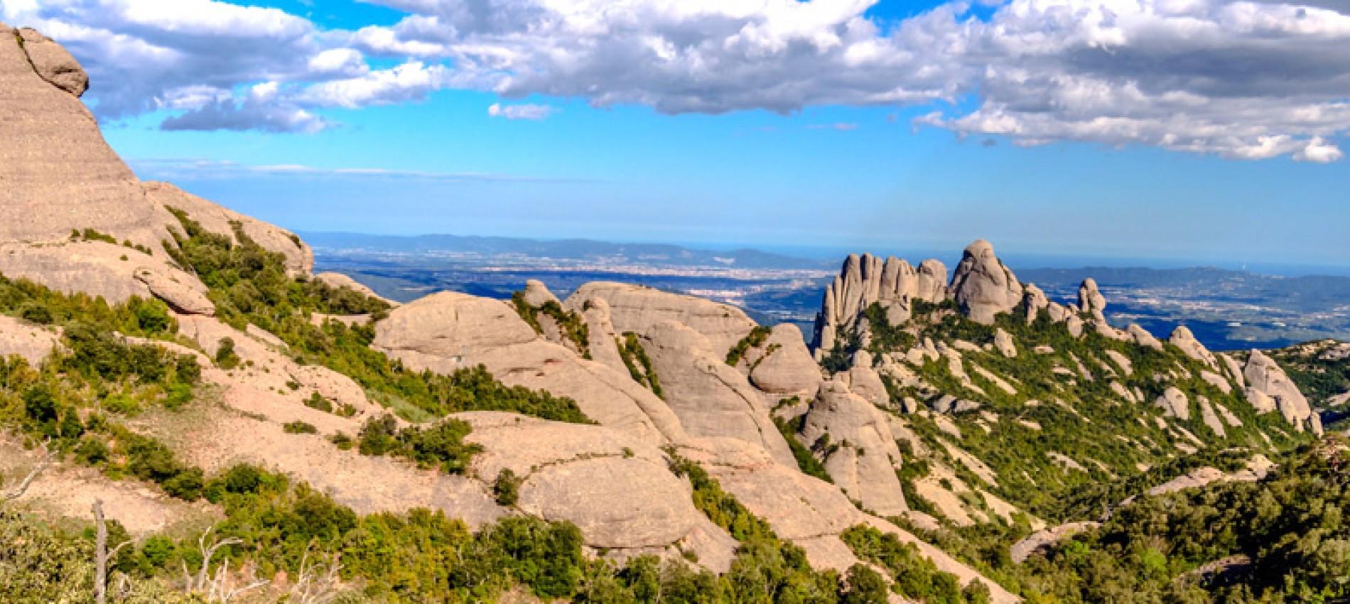 Massif de Montserrat Catalogne