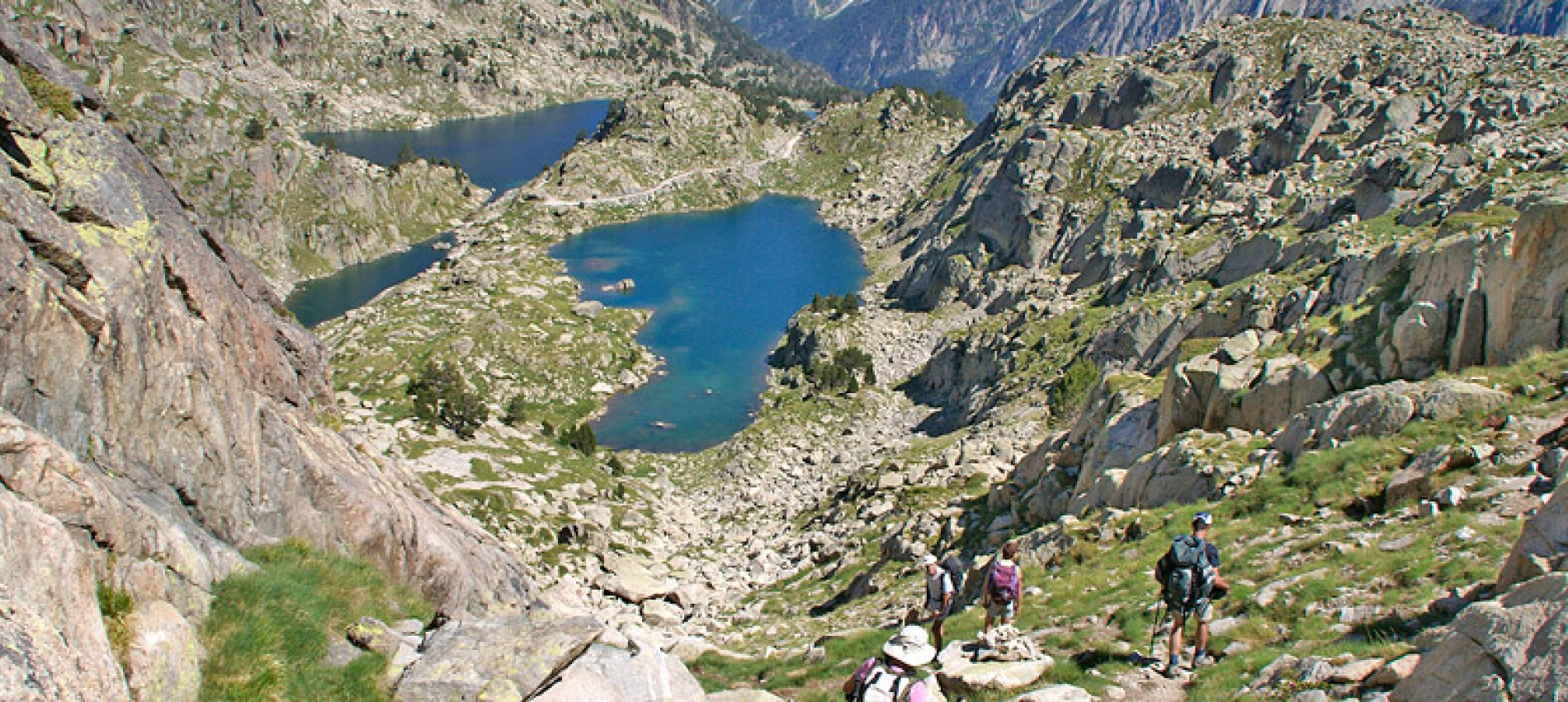 Lacs et refuge d'Amitges Encantats