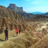 randonnée désert bardenas navarre