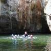 Canyoning avec enfants en Aragon