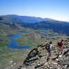 Lacs du Carlit depuis le sommet