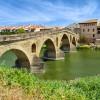 Puente la Reina, au carrefour de plusieurs voies vers Saint Jacques de Compostelle