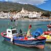 Cadaqués et barque de pêcheur