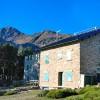 Refuge des Cortalets et mont Canigou
