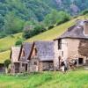 GR10 et hameau de montagne