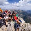 Au pic de Pedraforca - Pollegó superior
