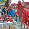 Piment d'Espelette - marché du Labourd en Pays Basque