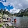 Pause à l'estany de Ratera