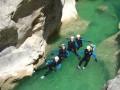 Canyon en famille en Espagne