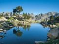 Reflet des Encantats dans un lac