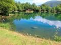 Etang sur le GR10 en Ariège