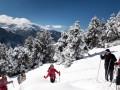 Raquettes à neige en Haut-Conflent (Pyrénées-Orientales)